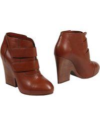 Trussardi Shoe Boots - Lyst