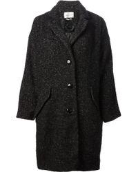 Etoile Isabel Marant Oversized Coat - Lyst