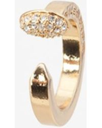 Giles & Brother | Crystalized Nail Ring | Lyst