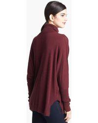 Trouvé Trouvé Turtleneck Drape Sweater - Lyst