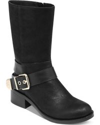Vince Camuto Wellsley Moto Booties - Lyst
