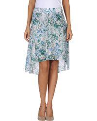 Brebis Noir - Knee Length Skirt - Lyst