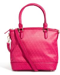 DKNY Active - Coated Logo Top Zip Tote - Lyst