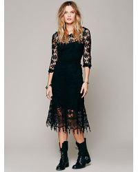 Free People Daisy Chemical Lace Dress - Lyst