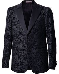 Moschino Damask Suit - Black