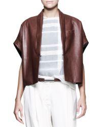 Brunello Cucinelli Longsleeve Half placket Shirt - Lyst