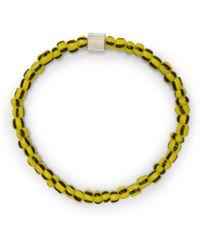 Club Monaco - Luis Morais Glass Bracelet - Lyst