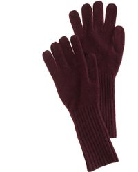 J.Crew Long Cashmere Gloves - Brown