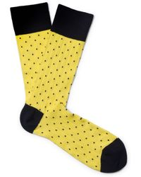 Club Monaco - Ribbed Sock - Lyst