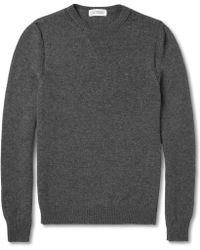 Exemplaire - Crew Neck Cashmere Sweater - Lyst
