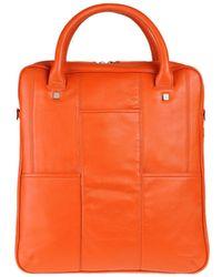Giorgio Fedon - Medium Leather Bag - Lyst