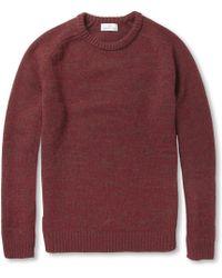 Hentsch Man - Wool Crew Neck Sweater - Lyst