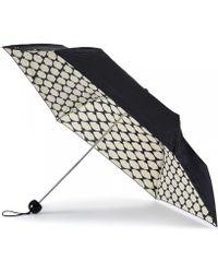 Lulu Guinness - Lips Grid Superslim Umbrella - Lyst