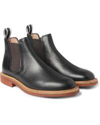 Oliver Spencer - Full Grain Leather Chelsea Boots - Lyst