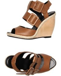 Pierre Hardy Wedge brown - Lyst