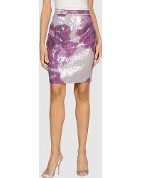 Rachel Roy Mini Skirt - Purple