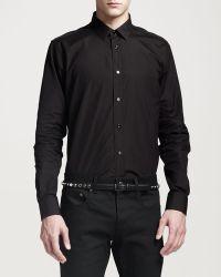 Saint Laurent Skinny Leather  Belt  - Lyst