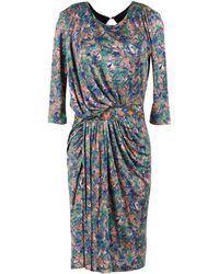Saloni Short Dress - Lyst