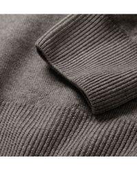 Slowear - Zanone Garment Dyed Wool Jumper - Lyst