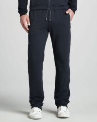 Zegna Sport - Trackpants Navy - Lyst