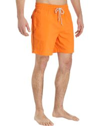 Jack Spade - Contrast Piped Swim Trunks - Lyst