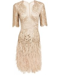 Matthew Williamson Mirror Lace Dress - Lyst