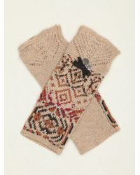 Free People Sleeve Shelter Armwarmer - Natural