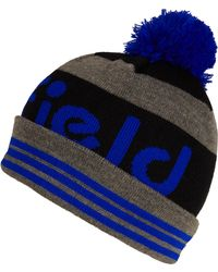 Penfield Blue Sanford Bobble Beanie Hat - Gray