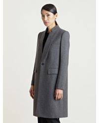 Givenchy - Womens Long Wool Cashmere Coat - Lyst