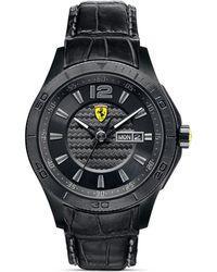 Scuderia Ferrari - Scuderia Analog Watch 44mm - Lyst