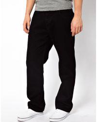 Asos Loose Jeans In Black - Lyst