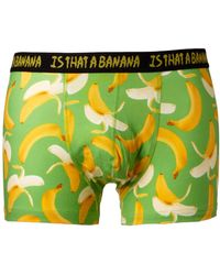 Calvin Klein Asos Trunks with Banana Print - Lyst