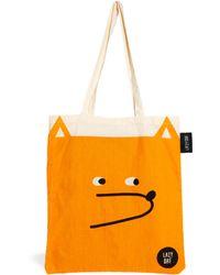 Lazy Oaf - Tote Bag in Fox Print - Lyst
