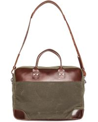 Billykirk | Padded Briefcase with Leather Trim | Lyst