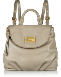 Marc By Marc Jacobs - Classic Q Mariska Grainedleather Backpack - Lyst