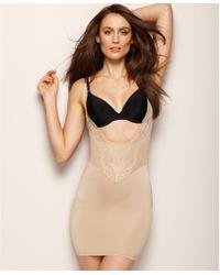 DKNY - Firm Control Jolie Open Bust Body Shaping Slip - Lyst