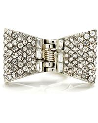 Henri Bendel The Broadway Bow Clip - Lyst