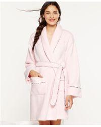 Tommy Hilfiger Super Soft Short Robe - Pink