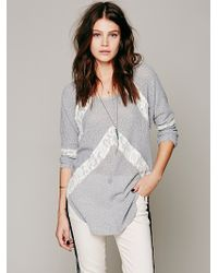 Free People We The Free Flying V Hacci - Lyst