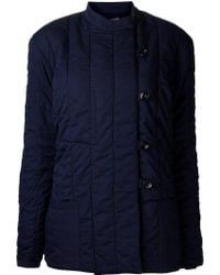 Christophe Lemaire - Padded Quilt Jacket - Lyst