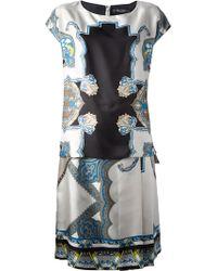 Etro Abstract Print Dress - Lyst