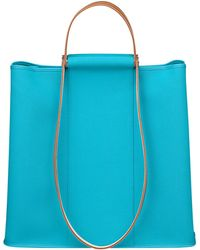 Hermes Blue Bag - Lyst