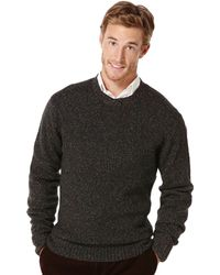 Perry Ellis Long Sleeve Ombre Sweater - Lyst