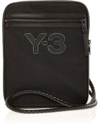 Y-3 Logo Ipad Bag - Black