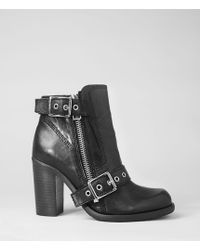 AllSaints New Jules Heel Boot - Lyst