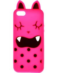 ASOS Iphone 5 Jelly Monster Case - Pink