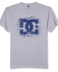 DC Shoes Testing Grounds Graphic Tshirt - Gray