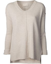 Giada Forte - Cashmere Scoop Neck Jumper - Lyst