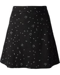 Lulu & Co | Star Print Skirt | Lyst