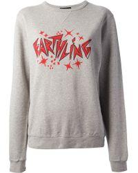 Lulu & Co - Earthling Printed Sweatshirt - Lyst